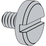 DIN 921-1986 开槽大盘头螺钉