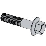 GB /T16674.1-2016 六角法兰面螺栓 小系列 标准型(粗杆) A级