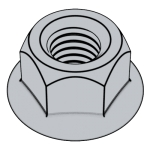 GB /T6187.1-2016 2型全金屬六角法蘭面鎖緊螺母