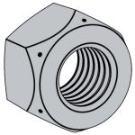 IFI 100-107-2002 扭矩型金属锁紧六角螺母和小六角螺母 Table 2