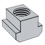DIN 508-2002 T型槽用螺母