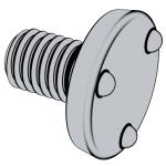 QC 199 上端面平圆头焊接螺钉