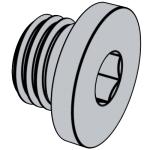 DIN 908-2012 内六角圆柱头喉塞