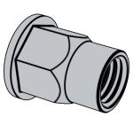 YJT 1009-2012 平圆头内外半六角铆螺母