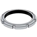 GB /T(HM)9160.2-2017 滚动轴承附件 - 锁紧螺母 HM系列