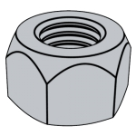 DIN (V)980-1987 全金属锁紧螺母 (V型)