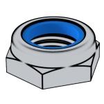 GB /T6172.2-2016 非金属嵌件六角锁紧薄螺母