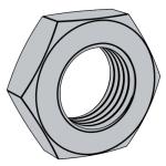 DIN (-2)439-1987 带倒角的六角薄螺母 产品等级:A级和B级